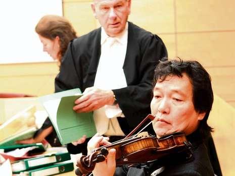 Jin Wang violin