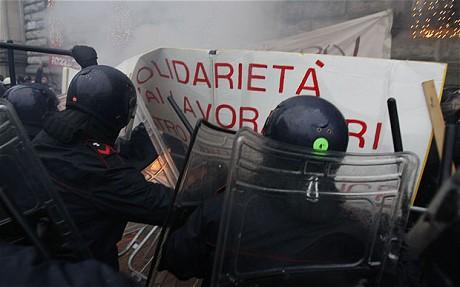 La Scala protest